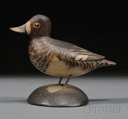 Miniature Lesser Scaup Figure
